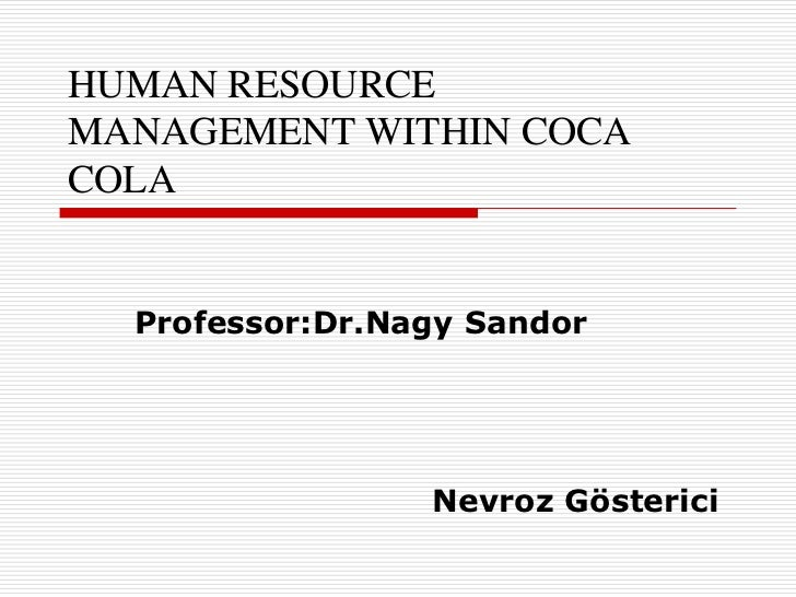 Hr Restructuring - the Coca Cola & Dabur Way: the Leader Humbled