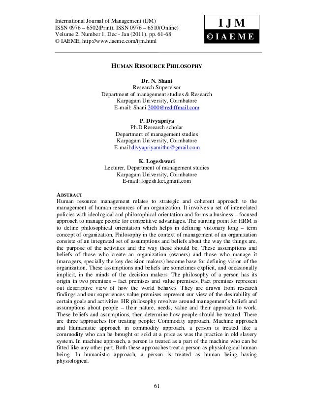 International JournalManagement (IJM), (IJM) International Journal of of Management ISSN 0976 – 6502(Print), ISSN 0976 – 6...