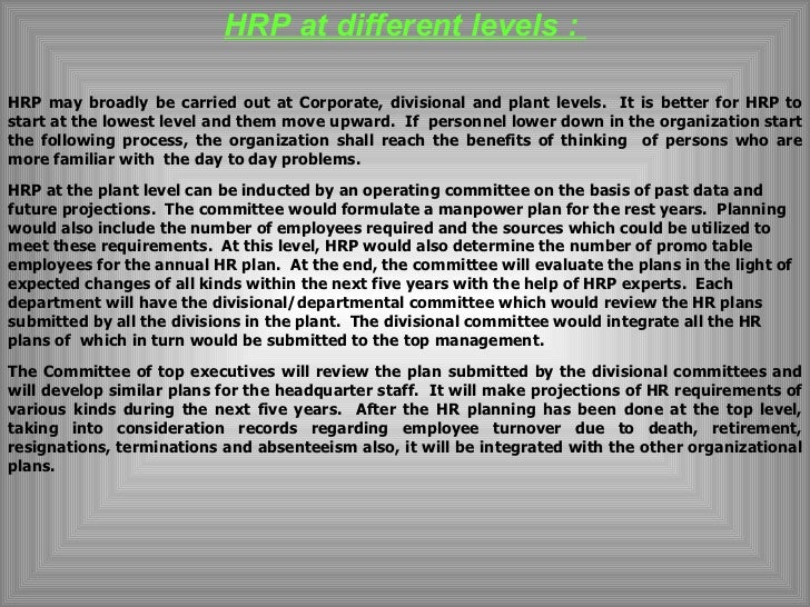 "essays on human resource planning According to flippo, ""human resource management is the planning, organising, directing and controlling of the procurement, development, compensation."