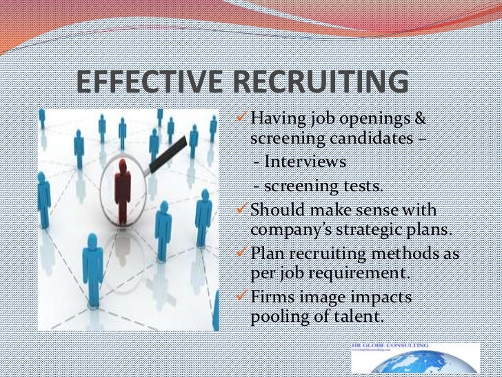 5 planning for and recruiting human It is organized in discrete chapters based on each of the framework's five building   creating an integrated short- and long-term recruitment plan for a unit or.