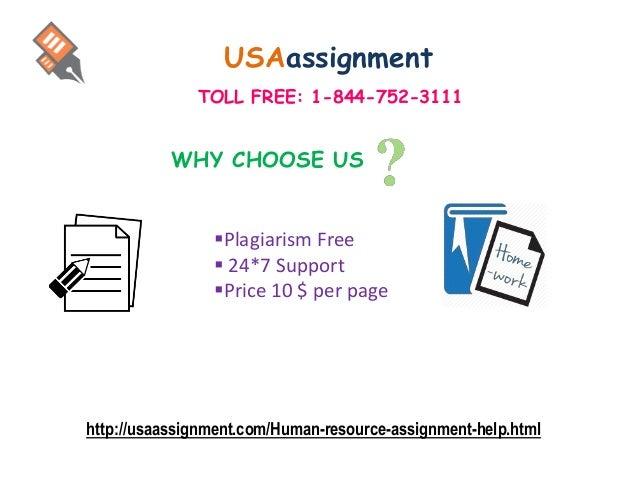 Homework help human resources