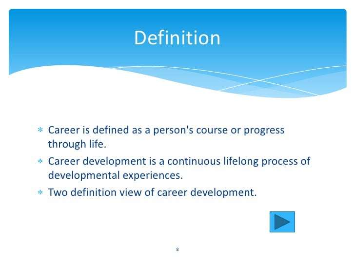maslows hierarchy of human needed 7 8 definitioncareer is defined