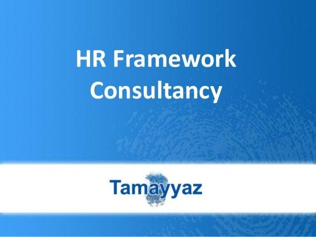 HR Framework Consultancy