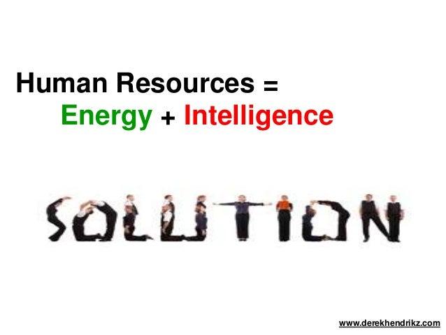 Human Resources Management Process by Derek Hendrikz