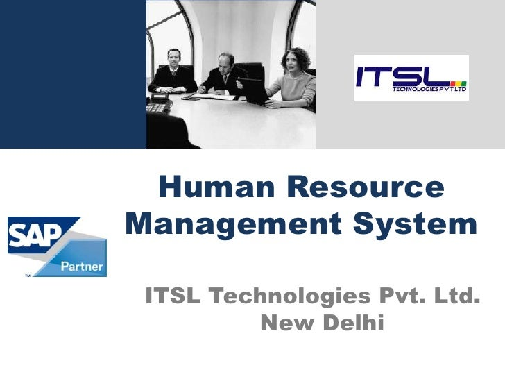 Technology Management Image: Human Resources Management System Including Payroll