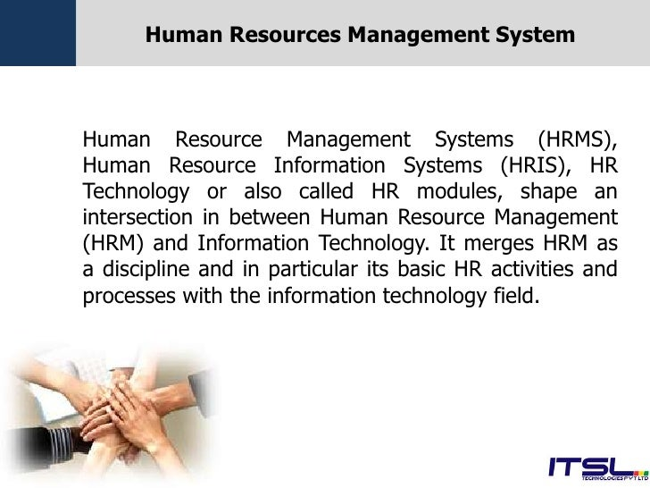 Human Resources Management System Including Payroll