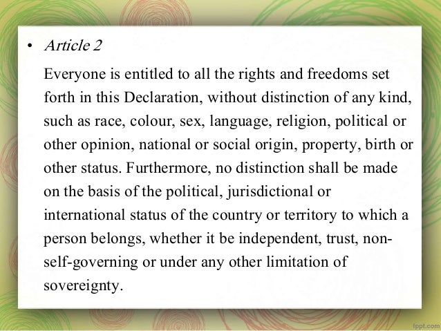 article 2 right to life essay