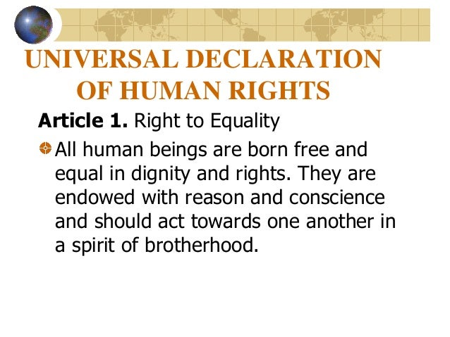 universal declaration human rights and rights man and citi The universal declaration of human rights contains 30 articles choose one of these articles and illustrate it in your own creative way theme 2: paint or draw a picture of someone you admire for their efforts in defending or promoting human rights.