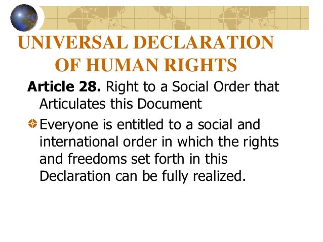 universal statement in individuals legal rights posting 28
