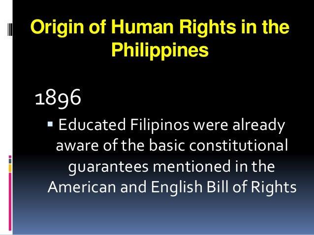 filipino bill of rights
