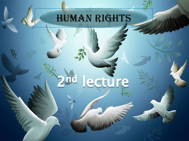 2nd lecture  <br />