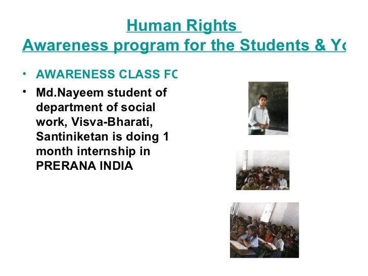 HUMAN RIGHTS AWARENESS EDUCATION