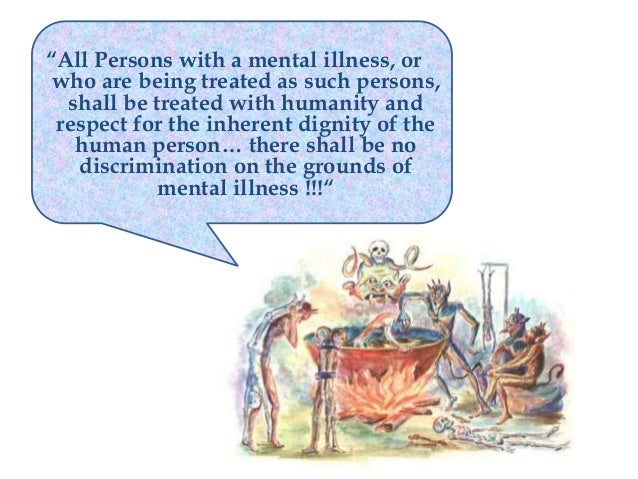People with mental illness and human rights: A developing countries perspective