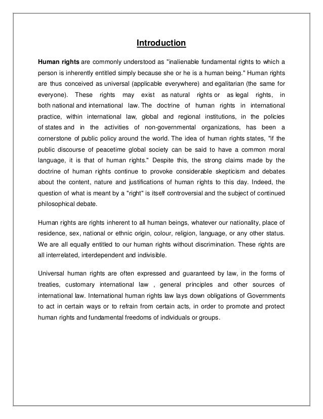 human rights in  avinash 4 introduction human rights