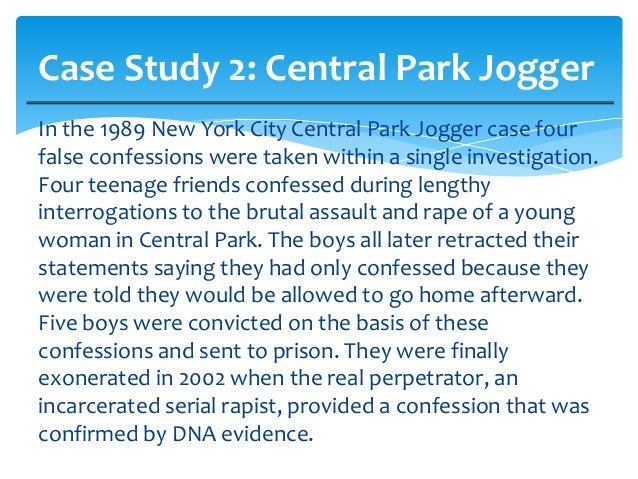 Central Park Jogger Case (1989) - The New York Times