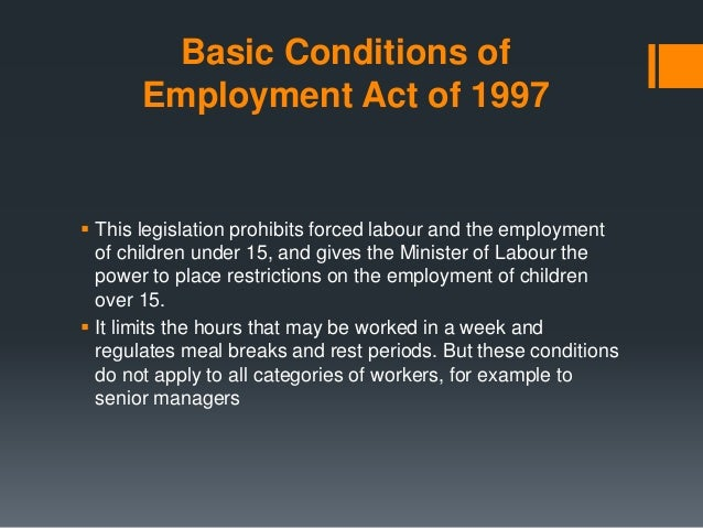 Understand How the Labour Relations Act Affects You in the ...