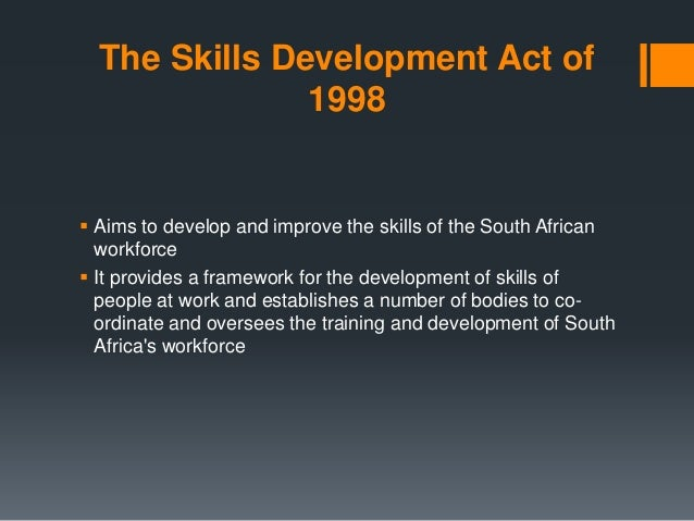 Essay skills development act in south