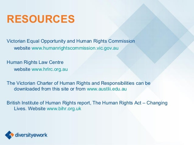 an introduction to the importance of human rights and equal opportunity commission The minnesota department of employment and  is an equal opportunity  religion, national origin, sex, or membership in a local human rights commission.