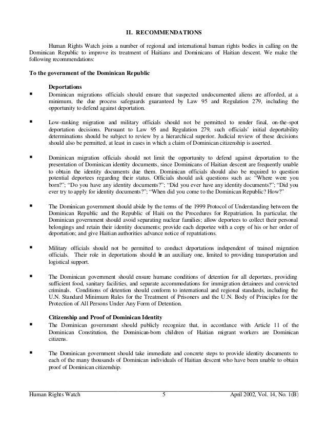 dominican republic rules