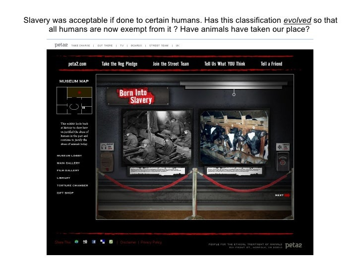 Slavery was once acceptable if done to a  certain  race of humans. Has this classification  evolved  so that all humans ar...