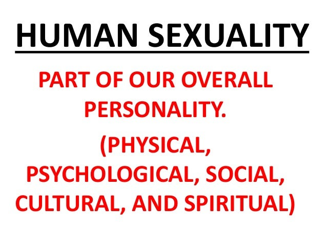 Psychology of human sexuality uf