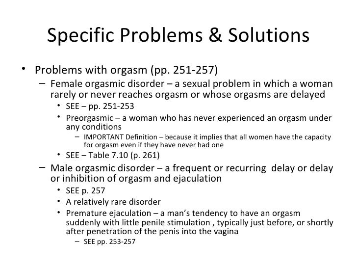 first time sex problems and solutions