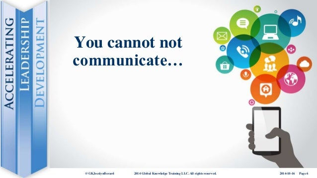 If you cannot communicate it, it isnt knowledge essay