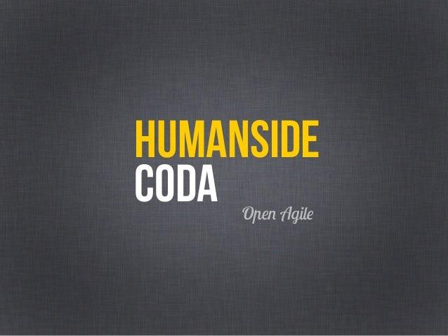 Human Side of Agile (Agile Venture 2019)