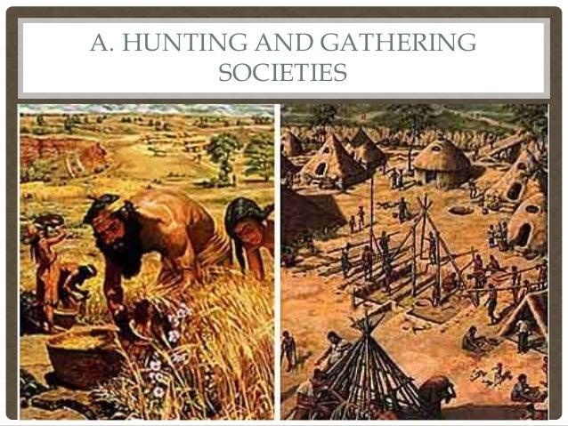 hunting and gathering society sociology