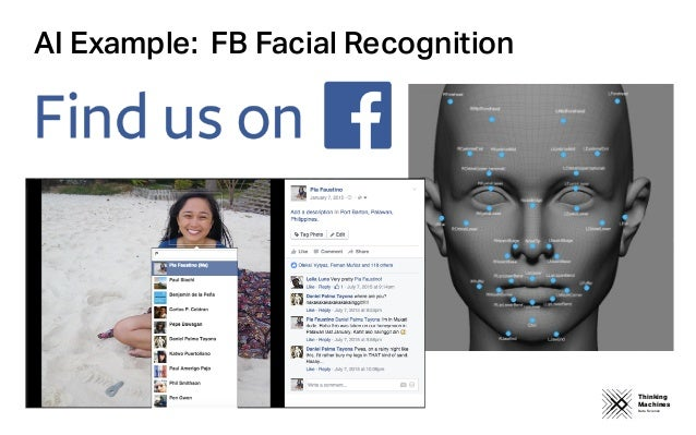 Thinking Machines Data Science AI Example: FB Facial Recognition