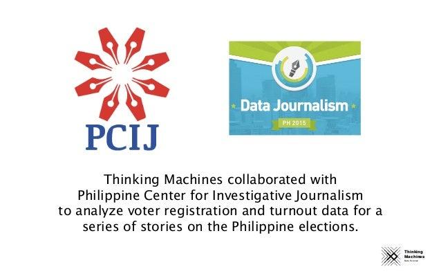 Thinking Machines Data Science Thinking Machines collaborated with Philippine Center for Investigative Journalism to analy...