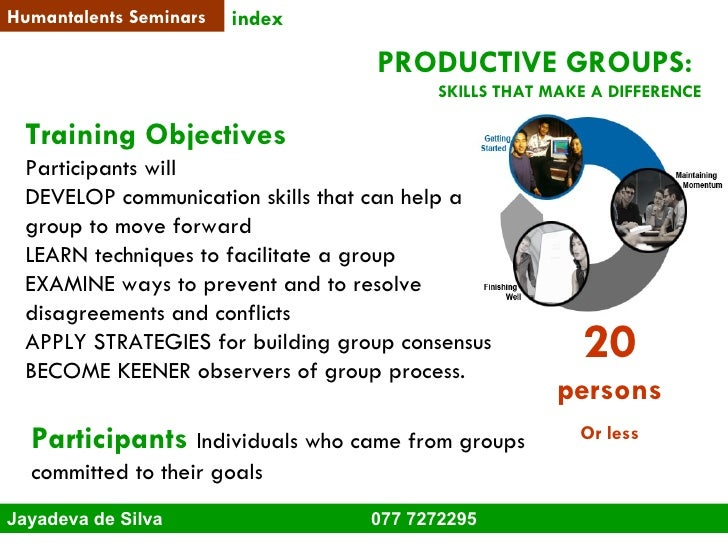 Humantalents soft skills training-brochure