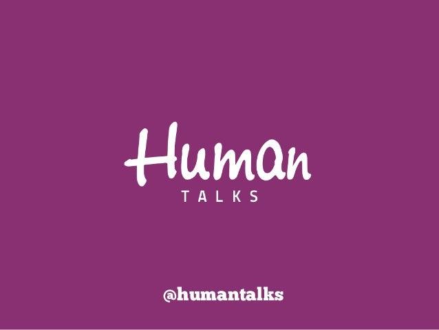 @humantalks