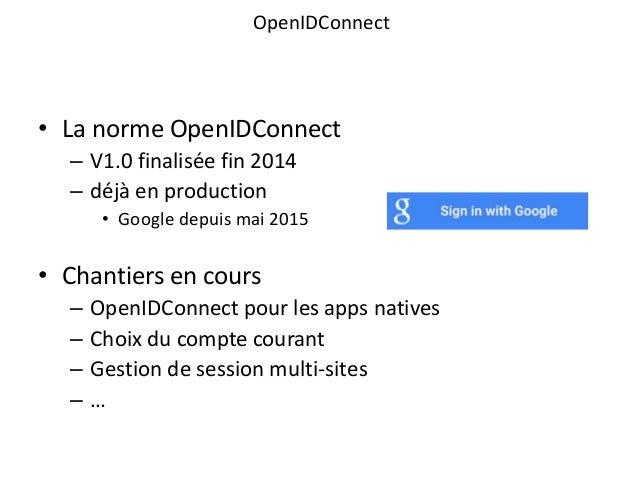 Human talks paris - OpenID Connect et FranceConnect - Francois Petitit - 7 juillet 2015