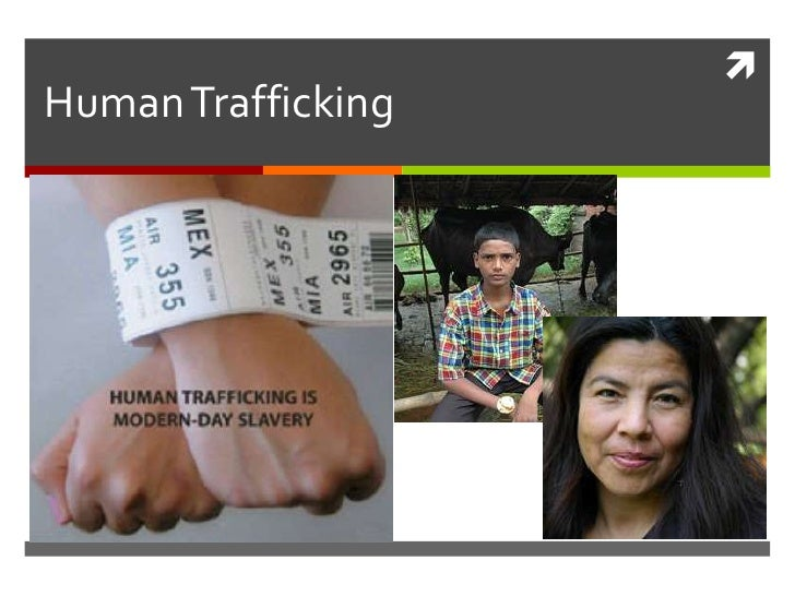 Human Trafficking<br />