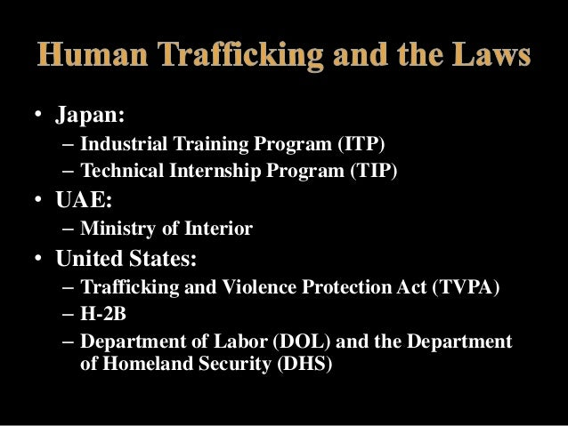 human trafficking documented argument A march 2001, report by the coalition against trafficking in women documented that many of these women and children go on to be held against their will working in asian themed spas the report, compiled with a grant from the department of justice, paints a disturbing picture that includes women marrying american servicemen in korea being.