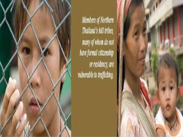 Causes of human trafficking essay