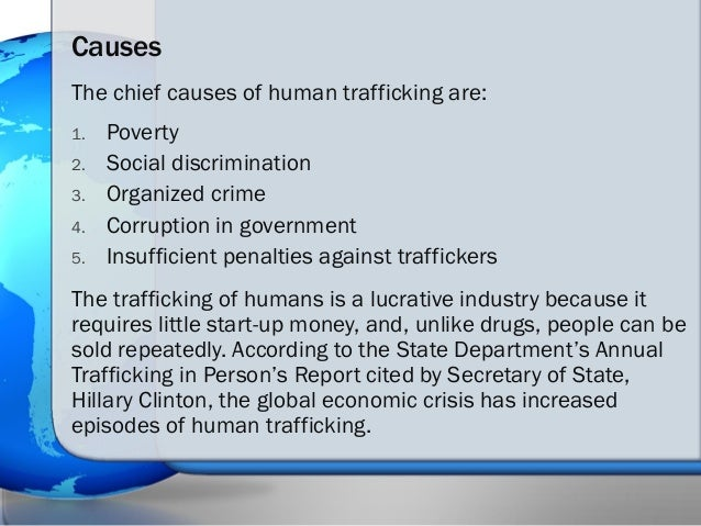 Human trafficking the issue versus propaganda & its ultimate solution