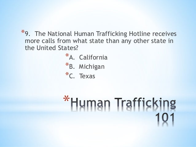 human trafficking in michigan The content of the module complies with the standards of training of human  trafficking as required by the michigan board of nursing (mbon), effective  january 6,.