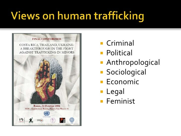 globalization human trafficking Human trafficking, globalization, and ethics william l richter and linda k richter introduction fifty thousand sex slaves are imported annually into the united states.