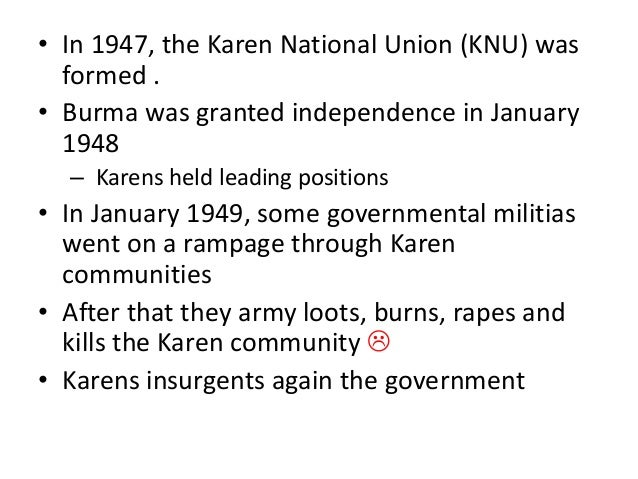 Human violation in Burma Slide 3