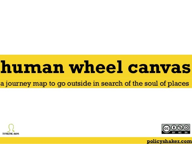human wheel canvas policyshaker.com a journey map to go outside in search of the soul of places