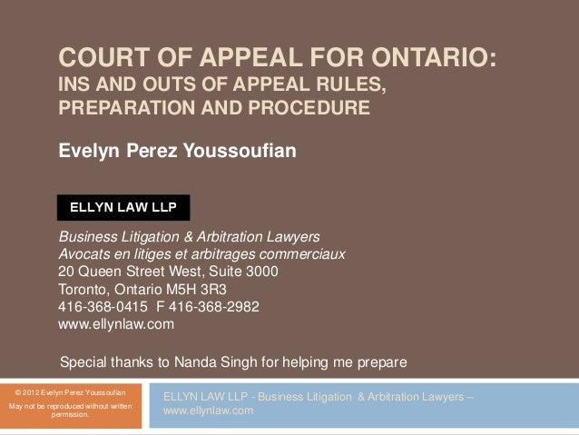 Appeals Rules 61 62 And 63 Rules Of Civil Procedure Rro 1990 Reg