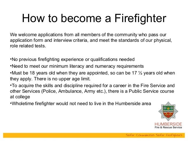 Humberside Fire Rescue Service Powerpoint