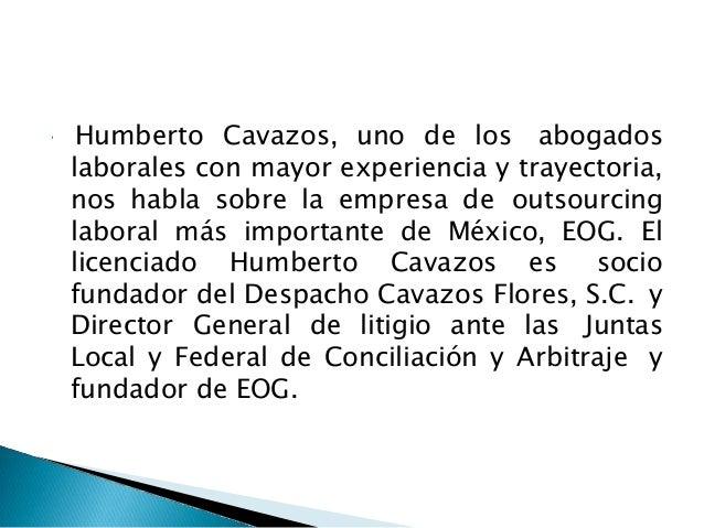 Humberto cavazos Slide 2