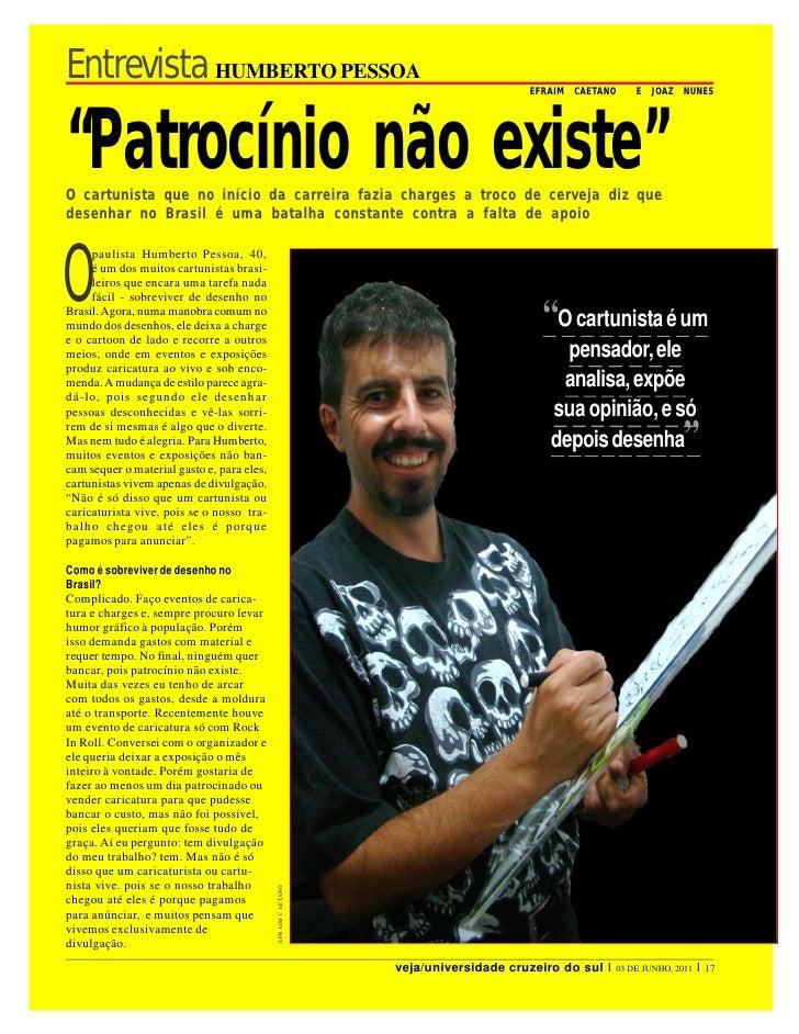 Entrevista HUMBERTO PESSOA                                                        EFRAIM   CAETANO       E   JOAZ   NU NES...