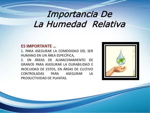 La humedad - Humedad relativa espana ...