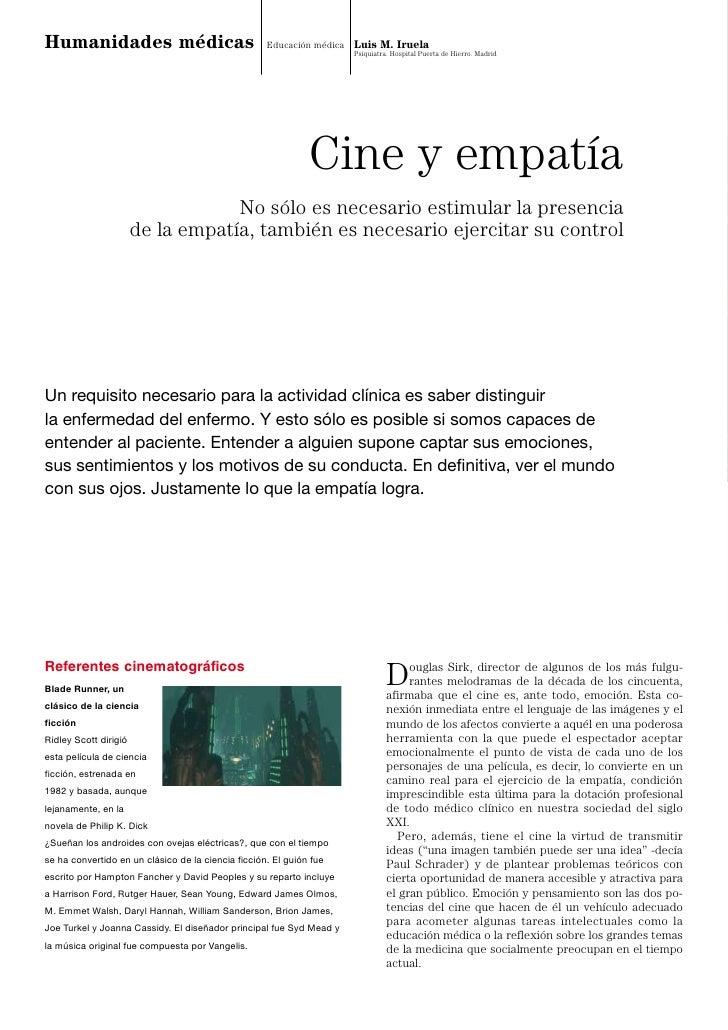 Humanidades médicas                                 Educación médica Luis M. Iruela                                       ...