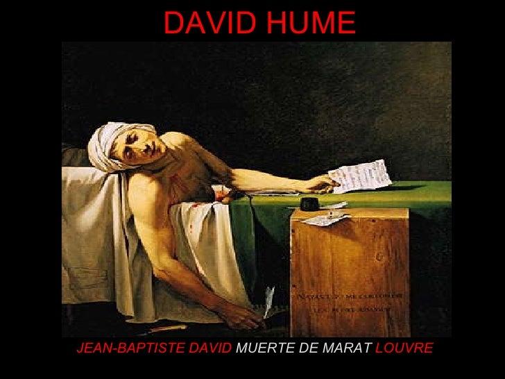 JEAN-BAPTISTE DAVID  MUERTE DE MARAT   LOUVRE DAVID HUME