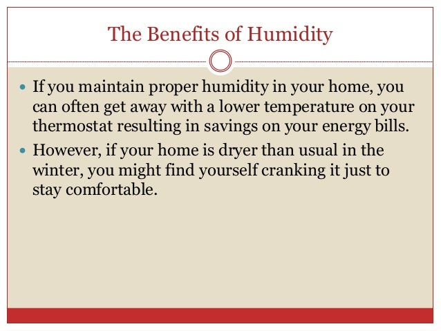 Humidity And Your Heating System